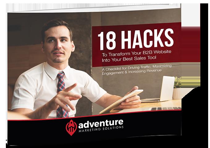 18 Hacks to Transform Your B2B Website