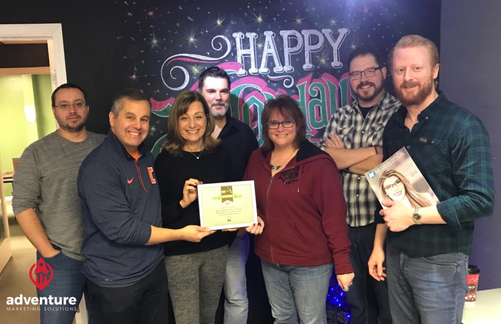 Adventure Named MARCOM AWARDS Gold Winner