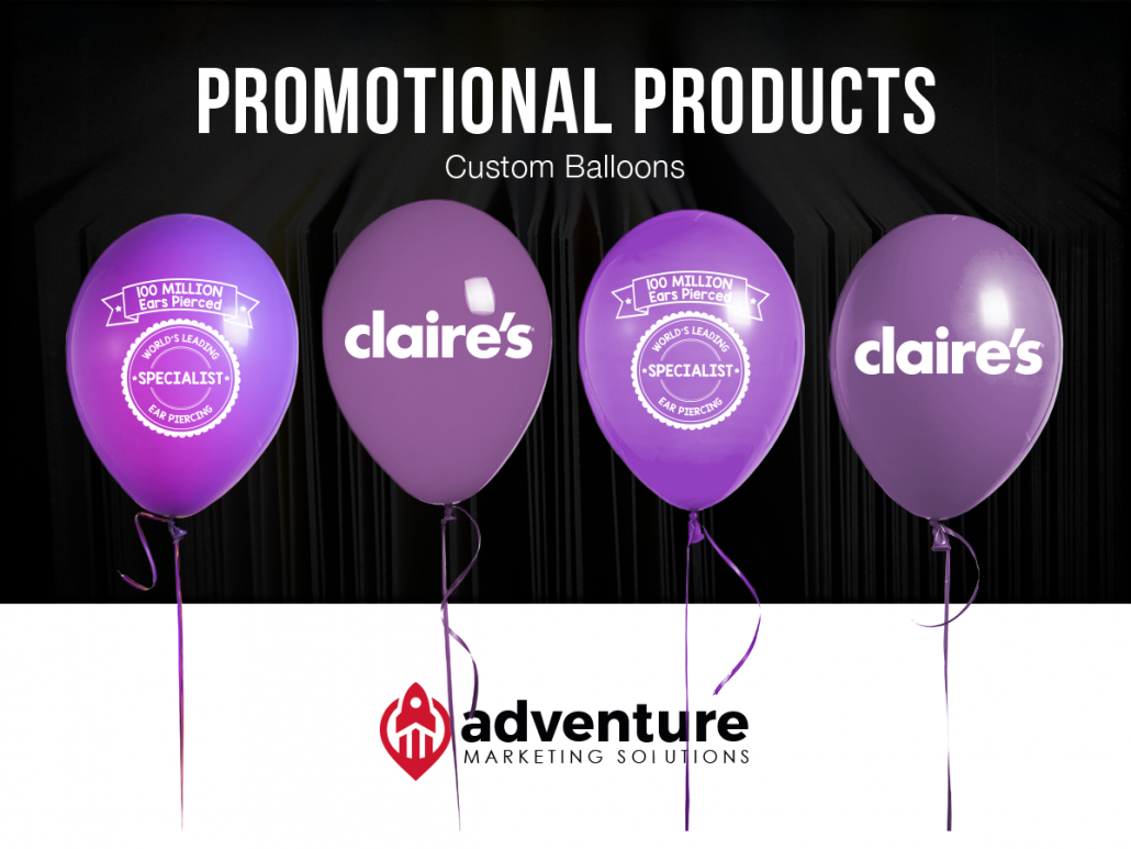 Project Recap Claire's Balloons