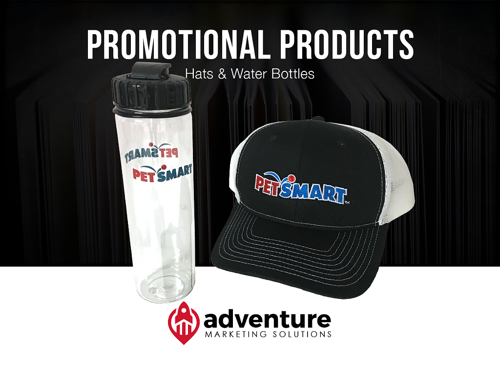 Project Recap PetSmart Hats & Water Bottles