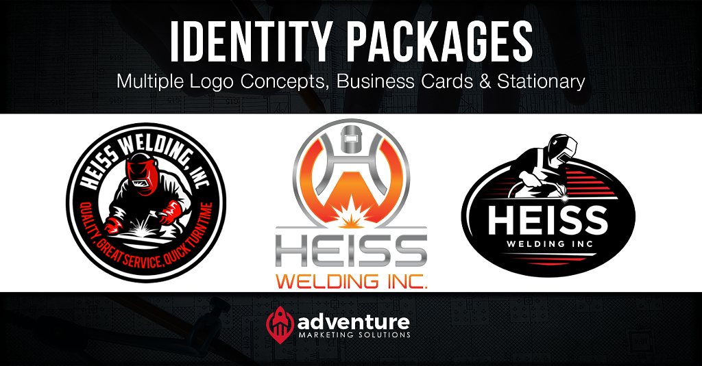 Project Recap: Heiss Welding Logo