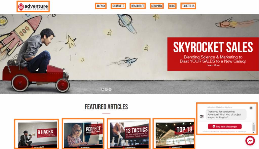 Web Page Clickables