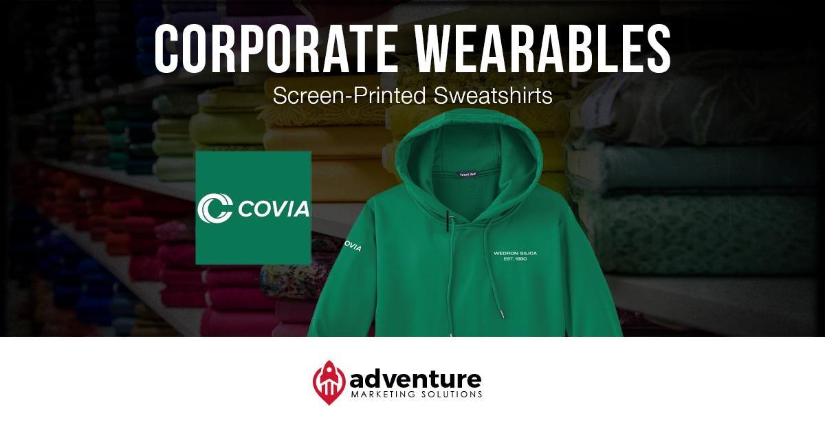 Project Recap Covia-Wedron Silica Sweatshirts