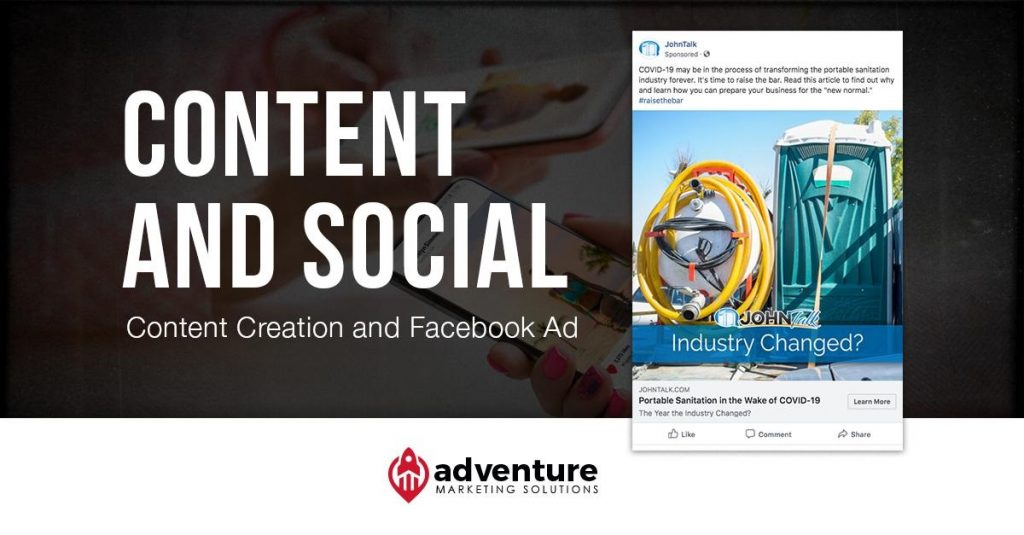 Project Recap JohnTalk Content & Facebook Ad