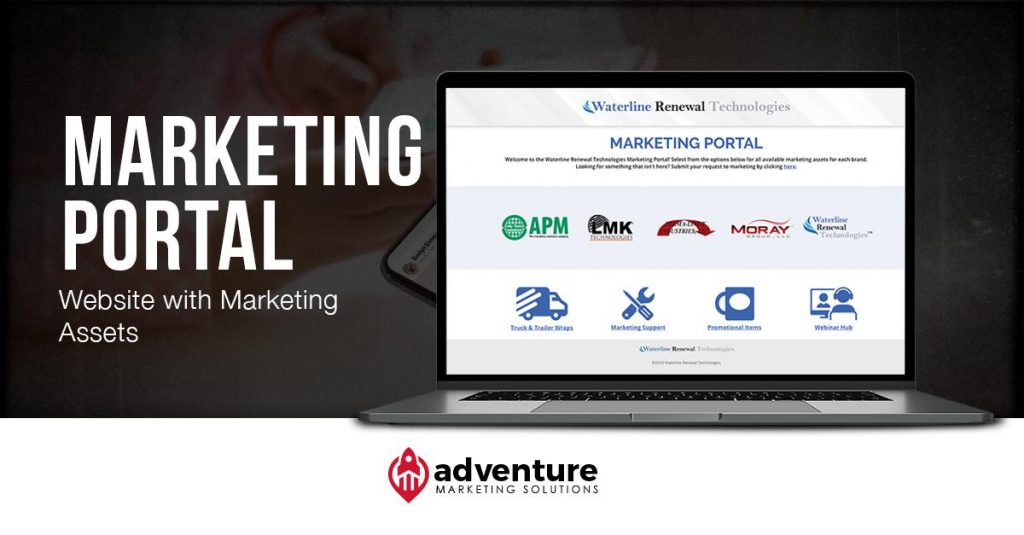 Project Recap: Waterline Renewal Technologies Marketing Portal