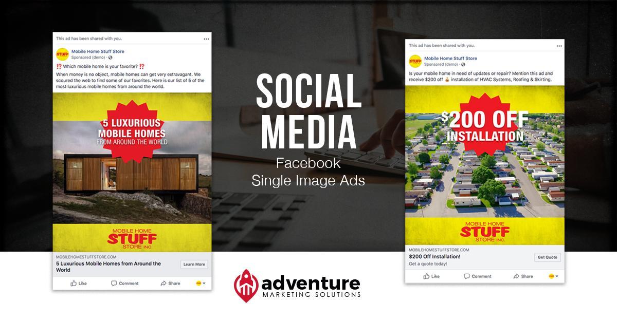 Project Recap Mobile Home Stuff Store Facebook Ads
