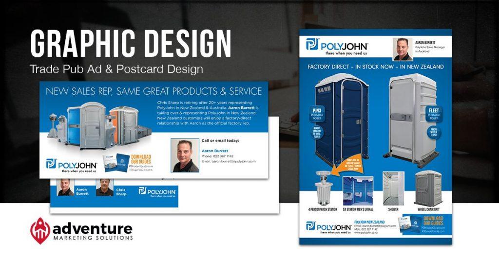Project Recap PolyJohn Graphic Design