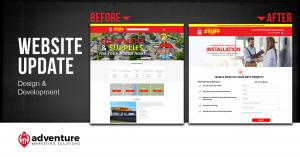 Project Recap Mobile Home Stuff Store Website Update