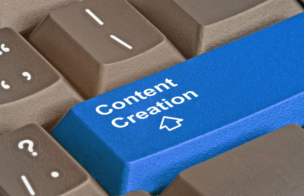 Content strategy step 2 creation