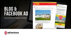 Project Recap Mobile Home-Stuff Store Blog Facebook Ad